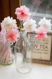 floral tissue paper home diy how to make mini tissue paper flowers in a vase bespoke