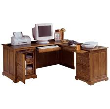 furniture fantastic l shaped computer corner desk with glass top