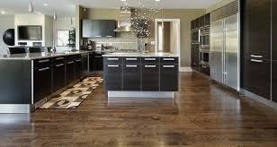 Laminate Brick Flooring Kitchen Kitchen Floor Ideas Modern Theme Kitchen Glossy Brown
