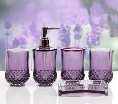 lavender bathroom ideas lavender bathroom decor plan 9 purple bathroom accessories set by