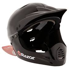 youth motocross helmet razor black full faced helmet youth walmart com