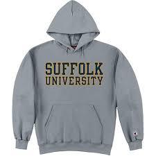 suffolk university hooded sweatshirt suffolk university