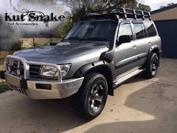 nissan patrol 1995 kut snake wheel arch flare kit for gu y61 nissan patrol wagon