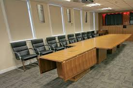 Modular Conference Table System with Folding Conference Tables Modular Meeting Tables Fusion