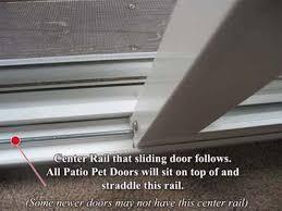 Patio Sliding Door Track Measuring For A Patio Pet Door Sliding Glass Pet Door