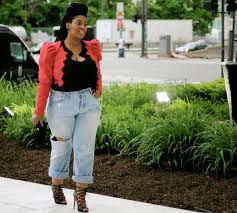 Plus Size Fashion Stores Make A Bold Statement It U0027s All In The Blazer Style Chic 360