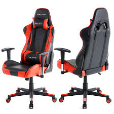 Gaming Desk Chair Gtracing Gaming Office Chair Racing Ergonomic Backrest And