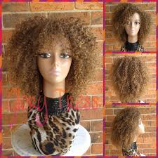 on sale curly wig with bangs short curly half wig