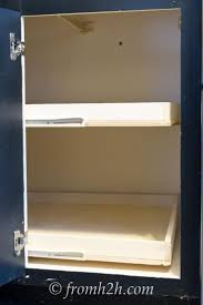 kitchen cabinets pull out shelves best 25 pull out shelves ideas on pinterest small bathroom
