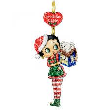 betty boop glitter ornaments the danbury mint throughout betty