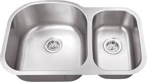 Wwwiptsinkcom M  Gauge EuroStyle Double Bowl Undermount - Kitchen bowl sink