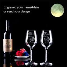 personalized glasses wedding online get cheap personalized wedding glasses aliexpress