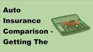 Auto Insurance Comparison Getting The Best Rates 2017 Compare