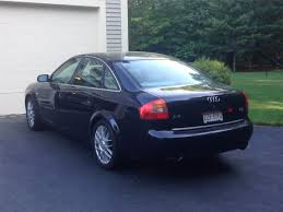 2002 audi a6 2 7t with rare 6 speed manual no longer available