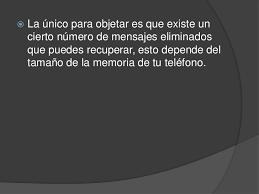 hotmail y los mensajes en el movil donde se van los mensajes borrados del celular