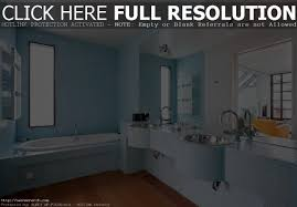 pale yellow and blue bathroom house design ideas