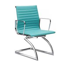 eames cantilever style turquoise conference chair my style