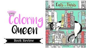 cats in paris coloring book review by won sun jang youtube