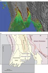 Irrawaddy River Map Onshore Petroleum Geology Of Myanmarcentral Burma Depression