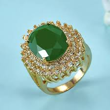 bridal gold ring aliexpress buy blucome copper rings bridal jewelry for women