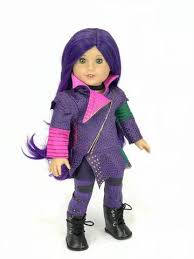 mal costume disney descendants mal for american girl doll american