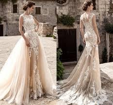 tulle wedding dresses 2017 chagne skirts tulle wedding dresses memrmaid see