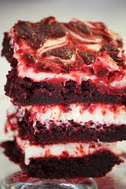 red velvet cheesecake brownies u2014 hello honey