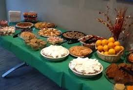 thanksgiving dessert table meridian office photo