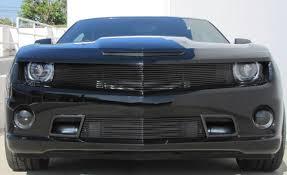 camaro custom grill framed cut sport mesh bumper w air ducts insert grilles