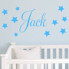 stencil kids walls beautifully and safe baby design ideas wall home decor large size baby nursery wall stickers personalised childrens star name sticker decal
