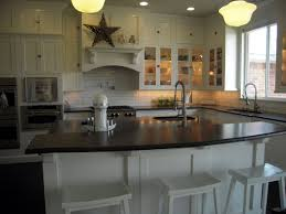 kitchen island with granite top and breakfast bar raised breakfast bar design ideas