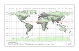 utm zone map coordinate system how to georeference a map in utm wgs 84