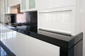Recessed Kitchen Cabinets Erbria Com Black Colours Granite Kitchen Island Be
