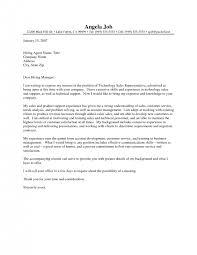 cover letter sample sales professional cover letter