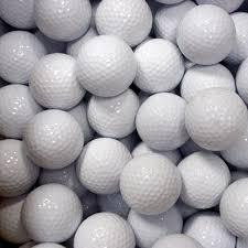 plain white golf balls 24 dozen bulk pkg