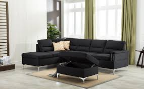 gray sectional with ottoman larry gray sectional ottoman set amazing furniture houston
