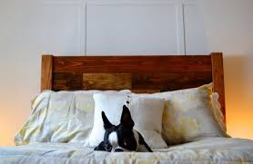Wood Headboard Diy with Make A Headboard From Reclaimed Wood