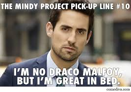 Mindy Meme - the mindy project pick up lines comediva