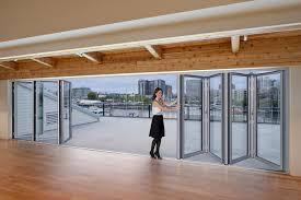 marvelous folding sliding glass doors frameless gallery best