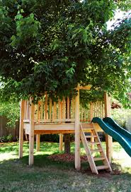 natural state treehouses inc grandkids u0027 octagon treehouse