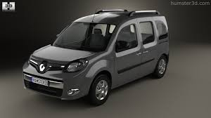 360 View Of Renault Kangoo 2014 3d Model Hum3d Store