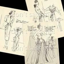 1940s digital download originator fashion sketchbook от dontsassme