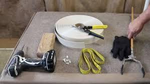 Patio Chair Strap Repair Patio Furniture Repairs Install A Single Wrap Vinyl Strap