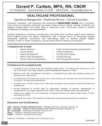 resume sample for nurse curriculum vitae nursing sample free