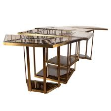 brass glass dining table italian brass and smoked glass dining table smoking glass and