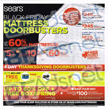 black friday 2017 mattress deals sears doorbusters 2014 u0026 black friday sears ad leaked