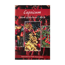 association cuisine capsicum herb of the year 2016 the international herb association