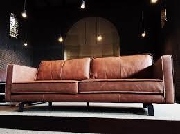 het anker sofa stoere havanna bank het anker in buffel leer cognac my style