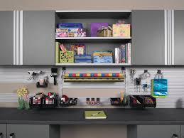Two Car Garage Organization - flooring overhead shelves top the trends in garage organization