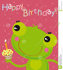 birthday frog clipart clipartxtras